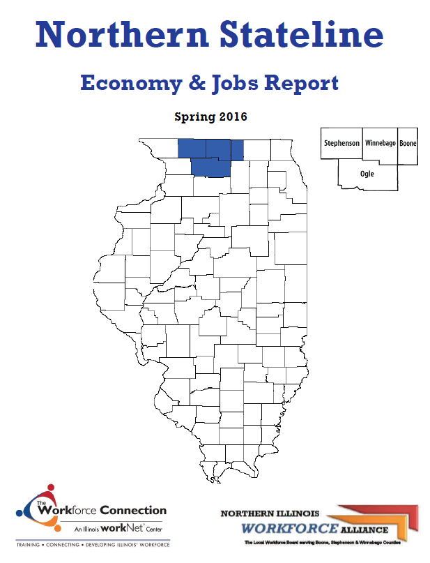 Spring 2016 Edition of Northern Stateline Economy & Jobs Report Released